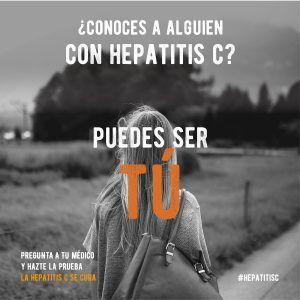 Día Mundial de las Hepatitis 2019 #hepatitisc, #nopasesdelargo #puedessertú
